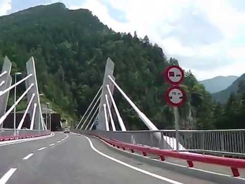 Túnel dos Valires une parroquias Encamp y La Massana dando servicio a Ordino y Canillo en Andorra