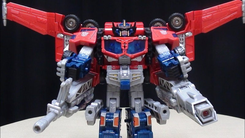 Cybertron Leader OPTIMUS PRIME EmGo's Transformers Reviews N' Stuff