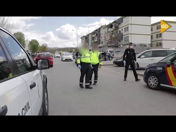 Espectacular persecución al coche que atropelló a un Guardia Civil en Granada Coronavirus Covid19