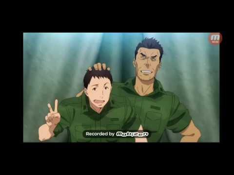 Врата Искусство современной войны Gate Jieitai Kanochi nite Kaku Tatakaeri 1 сезон 1 серия