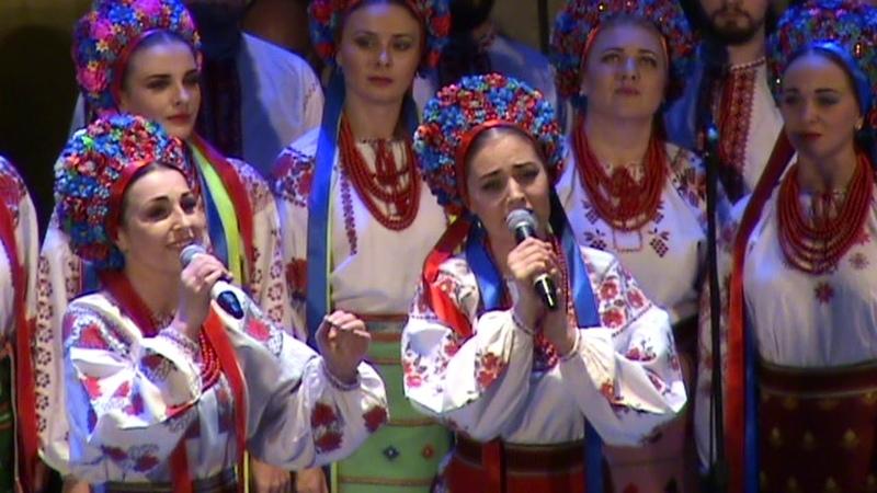Концерт хору імені Верьовки до Дня працівників культури м.Київ 2018