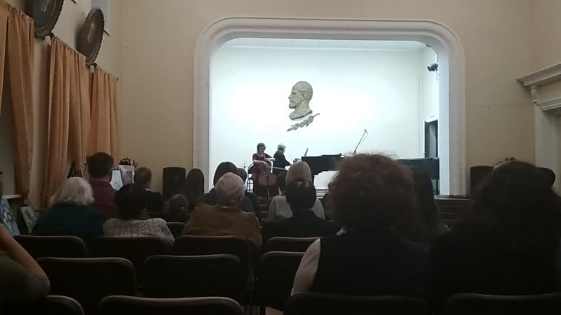 Поппер Венгерская рапсодия (фрагмент) исп. Екатерина Склярова