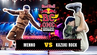 B-Boy Menno vs B-Boy Kazuki Rock | Semifinal | Red Bull BC One World Final Mumbai 2019