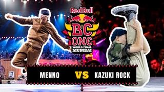 B-Boy Menno vs B-Boy Kazuki Rock | Semifinal | Red Bull BC One World Final Mumbai 2019