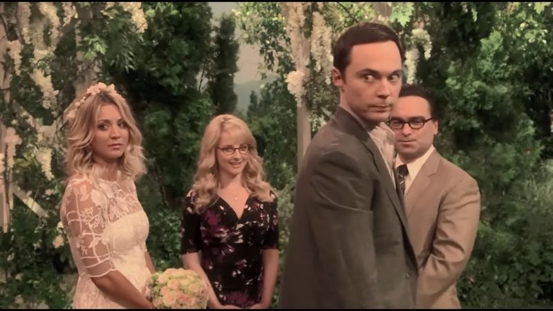 Очень трогательный момент Шелдон Теория большого взрыва The Big Bang Theory 10 сезон