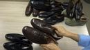 Мужская демисезонная обувь из натуральной кожи фирмы MANZ сток оптом.