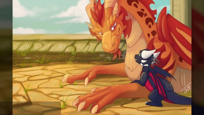 Spyro and Cynder Fire On Fire