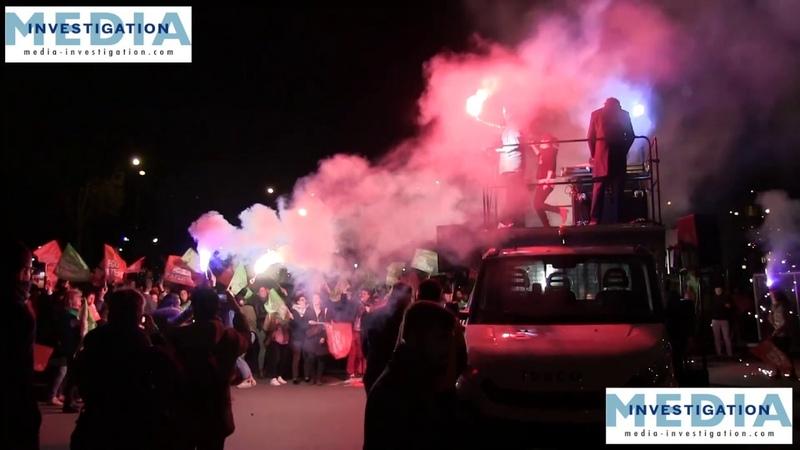LMPT Marchons enfants toujours devant l'Elysée chaque mardi soir LOI BIOÉTHIQUE