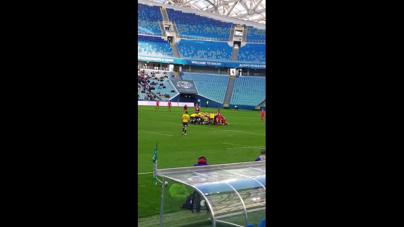 Чемпионат Европы по регби Россия Испания