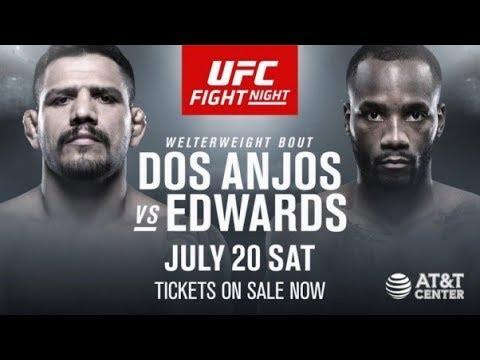 EA Sports UFC 3 Рафаэль дос Аньос - Леон Эдвардс (Rafael dos Anjos - Leon Edwards)