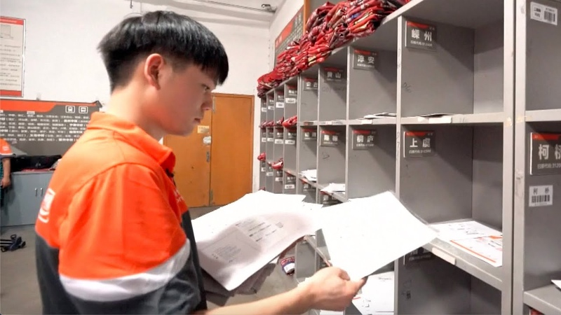 Deliveryman selected as leading talent, rewarded 1 million RMB