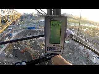 Как управлять башенным краном liebherr. how to operate a liebherr tower crane