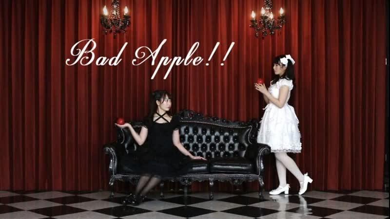 一人二役で Bad Apple 踊ってみた ありしゃん 1080 x 1920 sm36047724