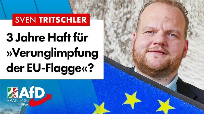 3 Jahre Haft für »Verunglimpfung von EU-Symbolen«? – Sven Tritschler (AfD)