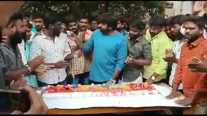 Makkal Selvan Vijay Sethupathil Celebrated His Birthday With His Fans Earlier Today