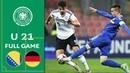 Bosnia Herzegovina vs Germany 0 2 Full Match U 21 Euro Qualifier