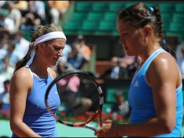 2009 RG, 1/4 Dinara Safina vs Victoria Azarenka Highlights