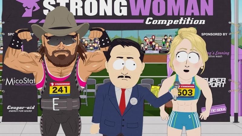 Go Strong Woman, Go - South Park - Board Girls - s23e07