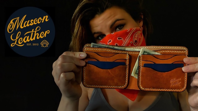 Safe at Home In the Studio Making a LEATHER Wallet Having FUN Quarantined Leather Crafting