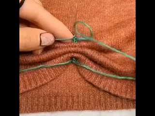 Как украсить рукава джемпера