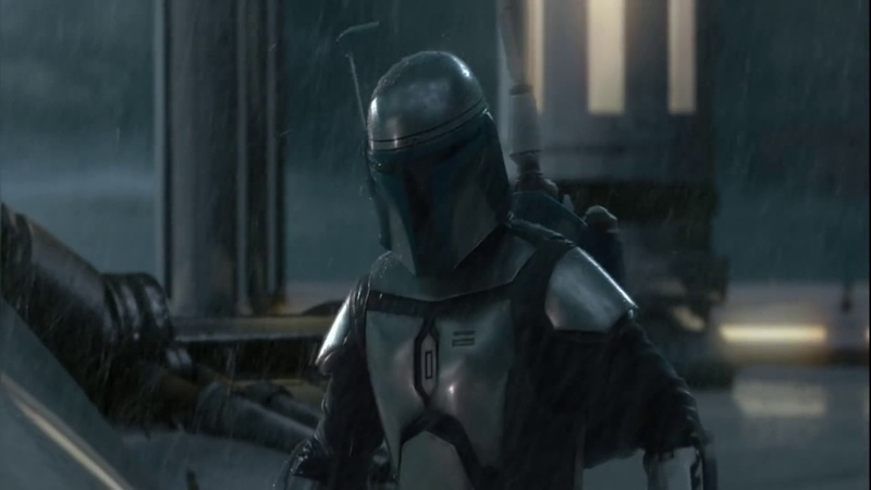Звездные Войны Эпизод 2 Джанго Фетт против Оби Вана Кеноби