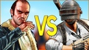PUBG VS GTA 5 СУПЕР РЭП БИТВА Пабг PlayerUnknowns Battlegrouds ПРОТИВ Гта V Online