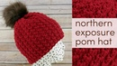 How to Crochet the Northern Exposure Pom Hat