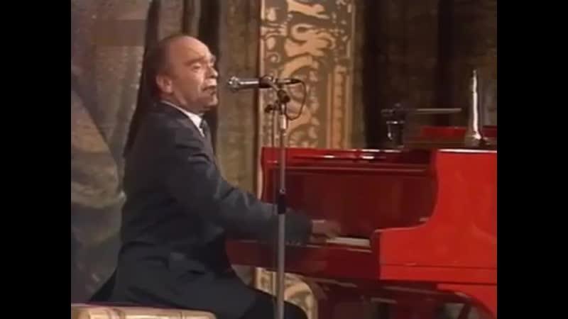Поёт Владимир Шаинский кинохроника добавление к документальному фильму