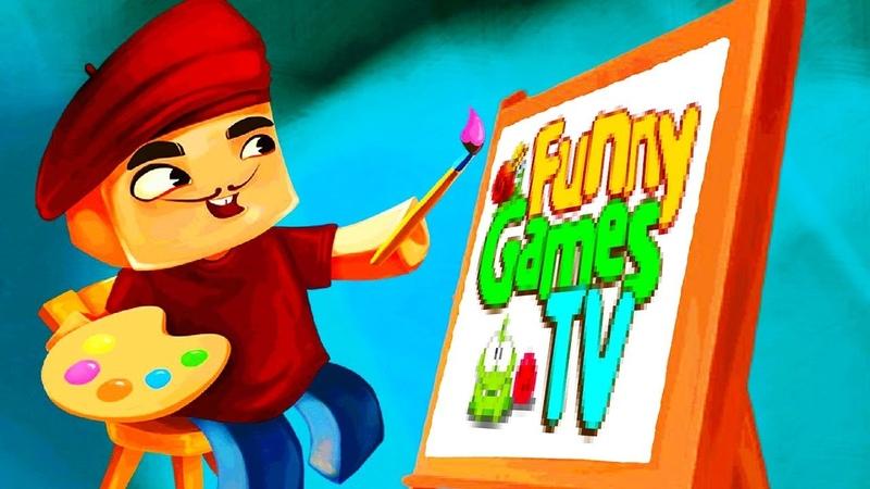 Пиксель Художник видео развивающая игра про рисование Pixel Painter рисуем с FGTV