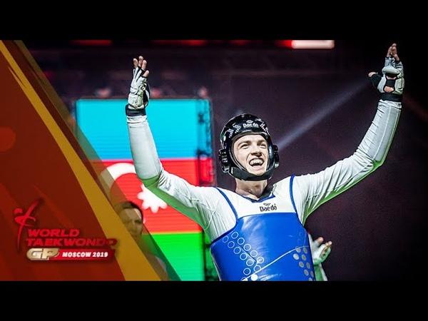 Moscow 2019 Grand Prix Final M 80kg Final Maksim KHRAMTCOV RUS vs Milad BEIGI HARCHEGANI AZE