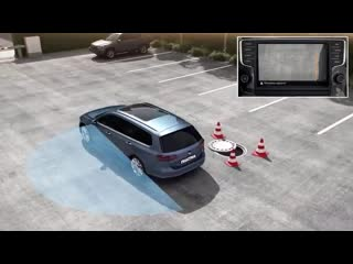 Технологии Volkswagen. Система кругового обзора