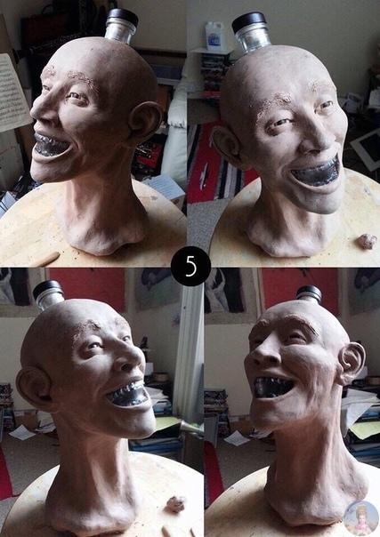 Проект криминалиста, который кyпил бутылку водки в видe стеклянного черепа и решил восстановить ему лицo.