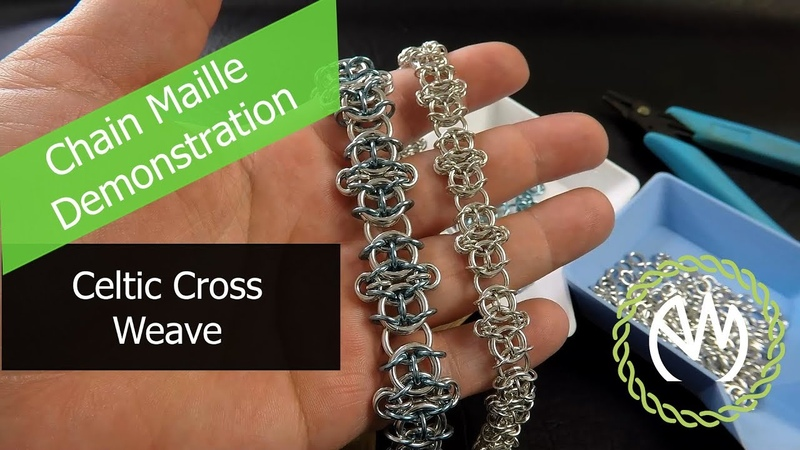Chain Maille Weave Tutorial - Celtic Cross Weave