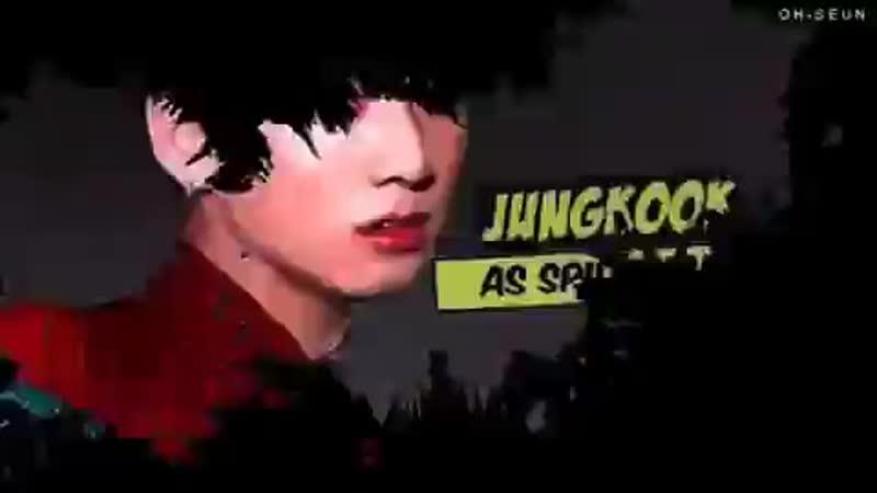 [v-s.mobi]TaekookVkook AU Jungkook and Taehyung as Spiderman Deadpool (Spideypool).mp4