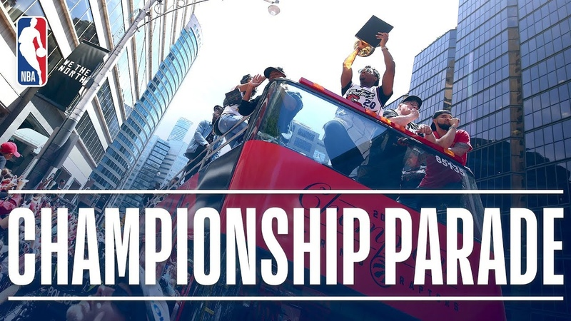 Best Moments and Speeches from the Toronto Raptor's 2019 NBA Championship Parade NBANews NBA Raptors