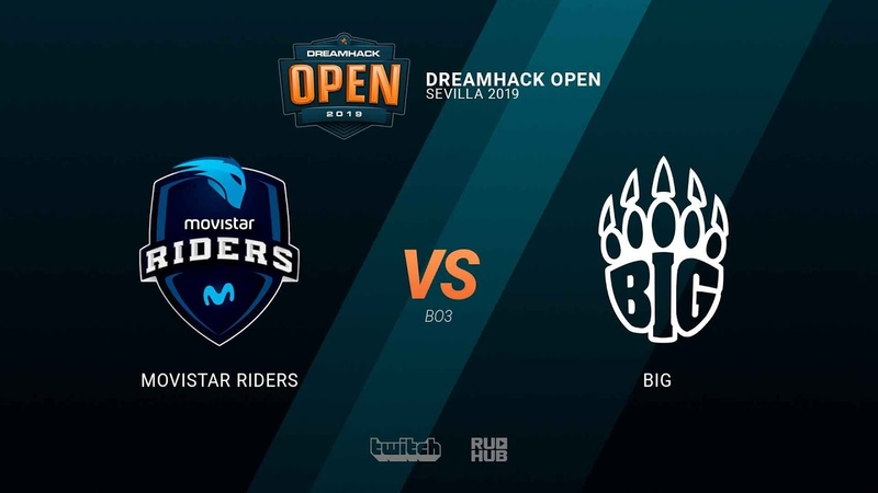 Movistar Riders vs BIG - DH Open Sevilla 2019 - map2 - de_overpass [TheCraggy MintGod]