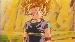 Goku Jr Se Transforma Em Super Sayajin - Dragon Ball GT Filme o Legado de Um Herói Legendado