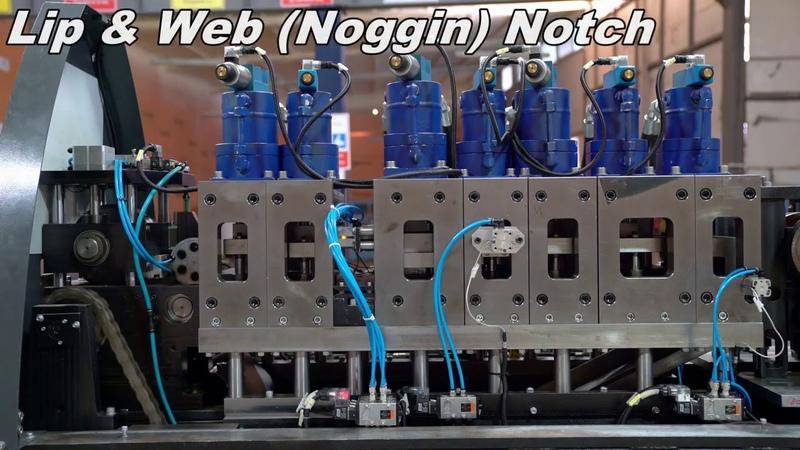 LGSF single profile Machine SFS SP160 ЛСТК однопрофильный станок SFS SP160