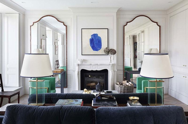 Изысканный пентхаус в Лондоне с нотками парижского стиля