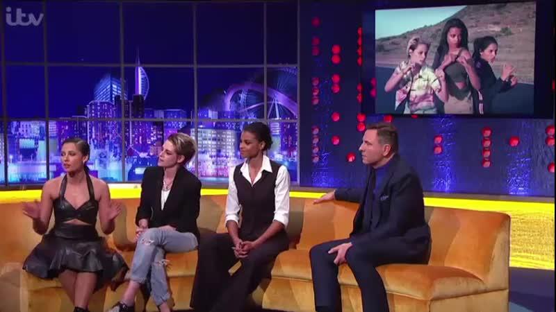Kristen Naomi and Ella on the TheJRShow in London November 23