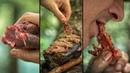 How to make 60 days aged Kobe on a hot stone - Mukbang