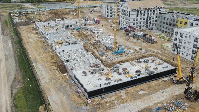 Отчет о ходе строительства квартал «Среда» май 2020, изображение №29