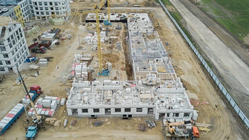 Отчет о ходе строительства квартал «Среда» май 2020, изображение №32