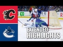 Calgary Flames vs Vancouver Canucks – Sep.16, 2019 | Preseason | Game Highlights | Обзор матча