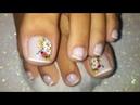 Unhasdecoradas unhas com francesinha decoradas para os pés margaridas joaninha