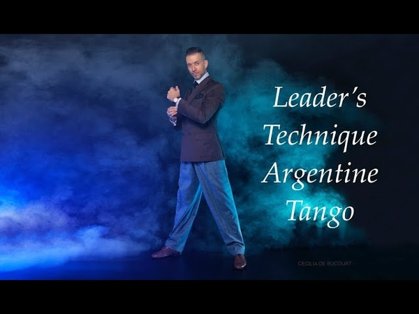 LEADER's TECHNIQUE ARGENTINE TANGO FREE ONLINE LESSON with Michael 'El Gato' Nadtochi