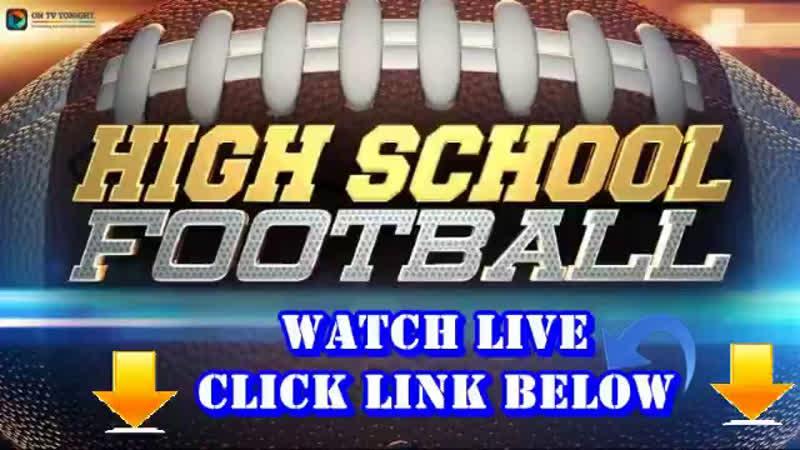 High School Football LIVE STREAM WEK 15