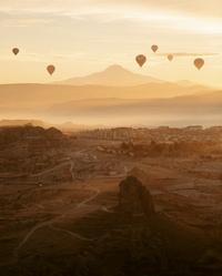 Каппадокия - уникальное место на территории Турции.