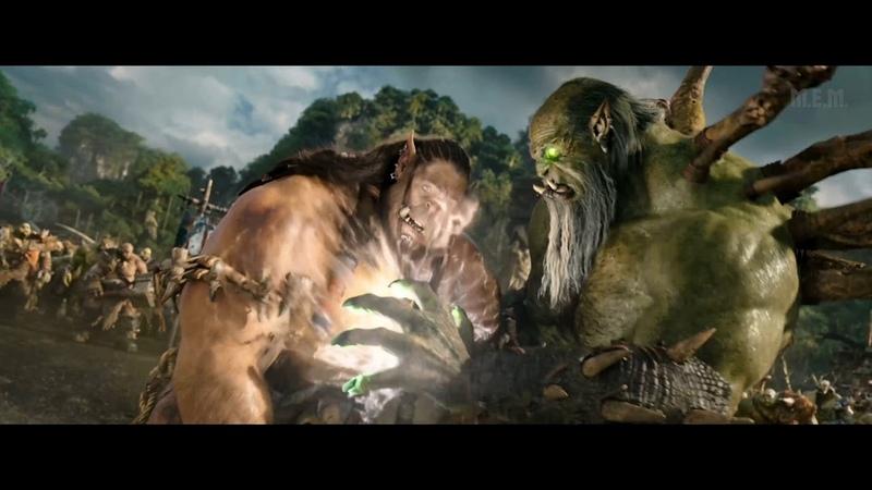 Warcraft 2016 Gul'dan vs Durotan Mak'gora 4K