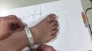 Шьем носочки чуники 3 часть. Выкройка для взрослого.